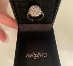 Srebreni prsten Charm