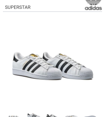 Adidas superstar 26.5 cm