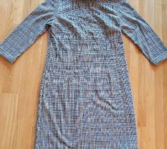 Tom Tailor karirana haljina 3/4 rukav, vel.42