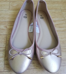 NOVO Rose gold balerinke
