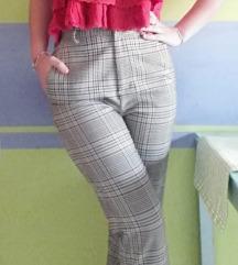 H&M karirane hlače