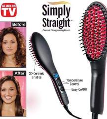 Elektricna cetka za ravnanje kose