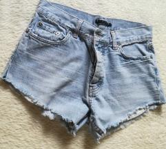 Sisley kratke hlače traperice