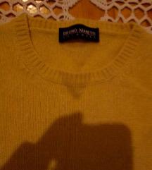 BRUNO MANETTI 100%kašmir pulover 38