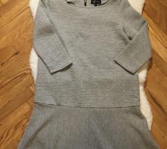 Siva pulover haljina
