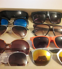 Lot sunčanih naočala 9 komada