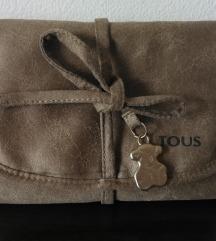 Tous platnena torbica/omot za cuvanje nakita