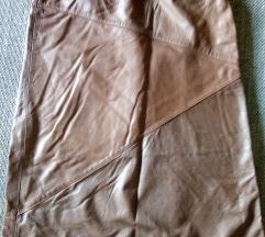 Kožna suknja M