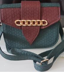 Nova smaragdno zelena torbica