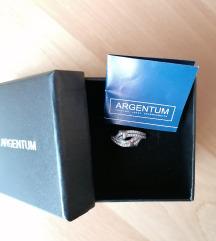 Argentum prsten srebro