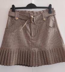 Suknja na falde like Zara