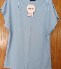 Nova Orsay plava bluza s biserima