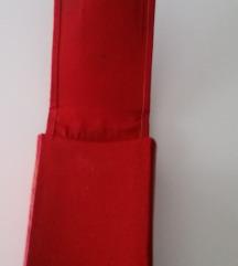 Prava vintage kožna tabakera  S PT