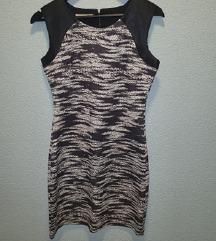 Crno bijela haljina