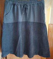 Trudnička midi suknja