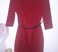 Formalna crvena haljina