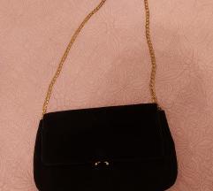 Nova crna kožna Mango torba