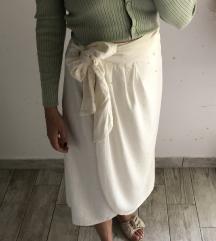 Zara Bijela/krem suknja