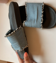 Nove teksas natikače, papuče like zara  36/37