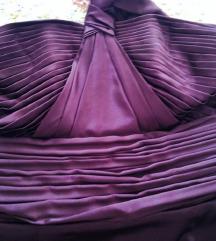 Večernja svečana haljina Noir svila