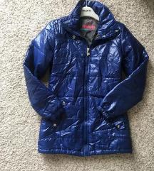Plava puffer jakna vel XS-S