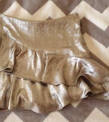 Zara minica xs srebrna