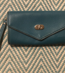 blue clutch/bag