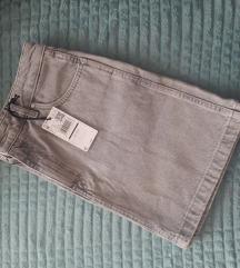 MANGO - Suknja od trapera
