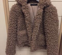 Zara teddy jakna, XS