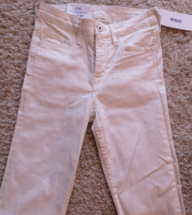 H & M bijele hlače