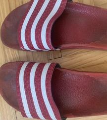 Adidas adilete crvene