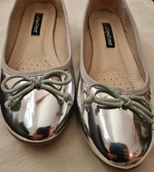 Lucky shoes srebrne balerinke,  potpuno nove