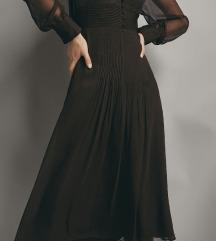 Tamno smeđa haljina