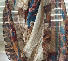 Oversized marama pareo šal etno print
