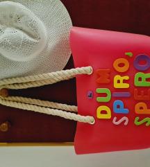 Jelly bag torba za plažu s natpisom