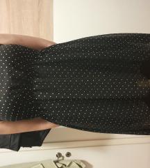 Crna haljina sa zakovicama