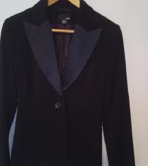 crni sako sa satenom M-L