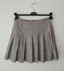 H&M karirana suknja