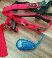 HALTI oprsnica za trening+Clix kliker za pse