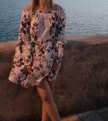 Cvjetna boho haljina