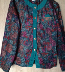 Cvjetna vintage jakna
