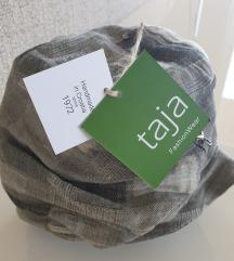 Taja - dizajnerski šešir/kapa, novi s etiketom