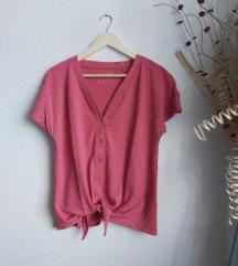 Nova tamnoružičasta C&A majica