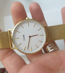 Cluse zlatni sat