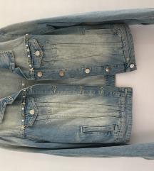TWIN SET traper kratka jaknica