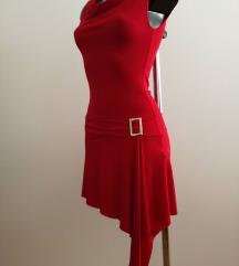 NOVA crvena sexy haljina S sada 95kn %%% na sve