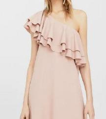 MANGO nova sa etiketom haljina puder boje L/XL