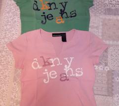 Lot capri hlace i 2 majice DKNY 👖👕👕