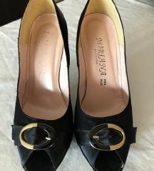 Crne salonke sandale vel. 39
