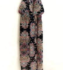 MANGO maxi paisley print haljina
